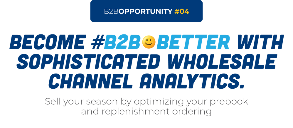 Become #B2B😀Better With Sophisticated Wholesale Channel Analytics.