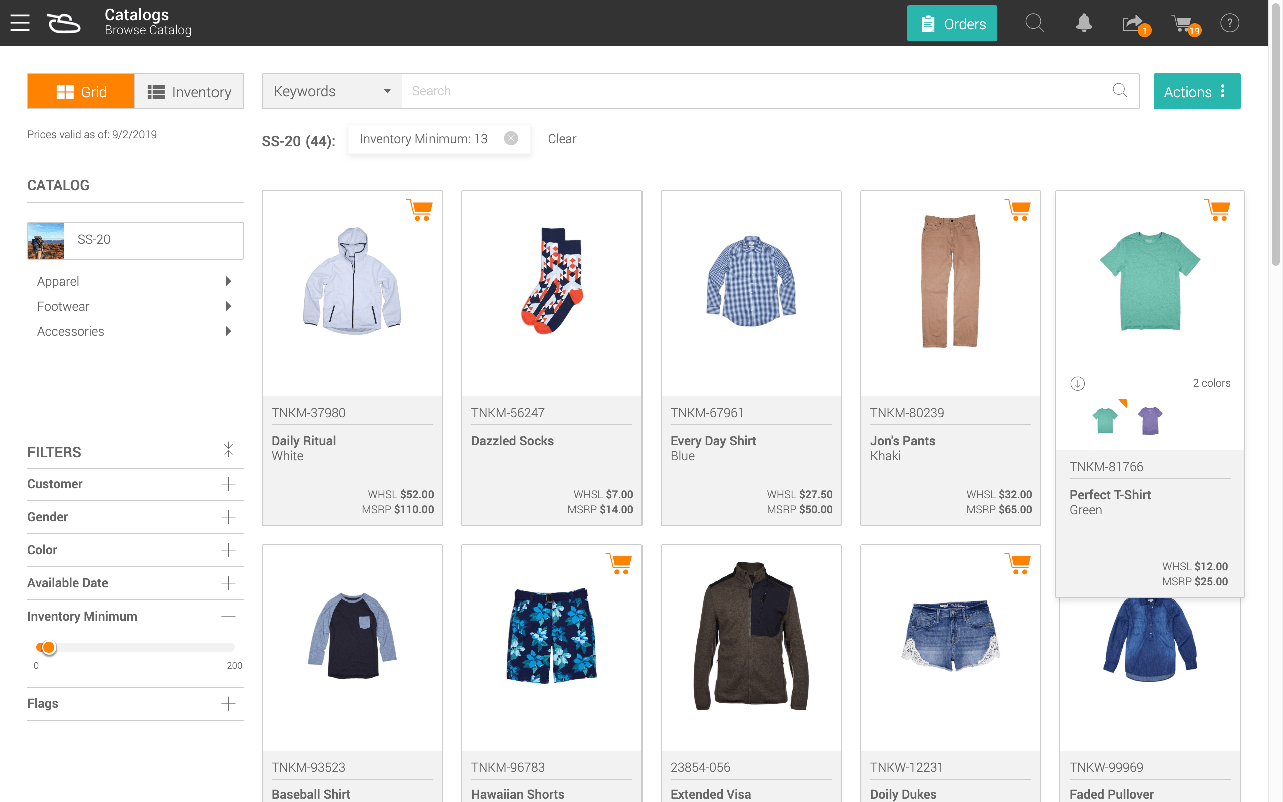 Product Search IMPROVE