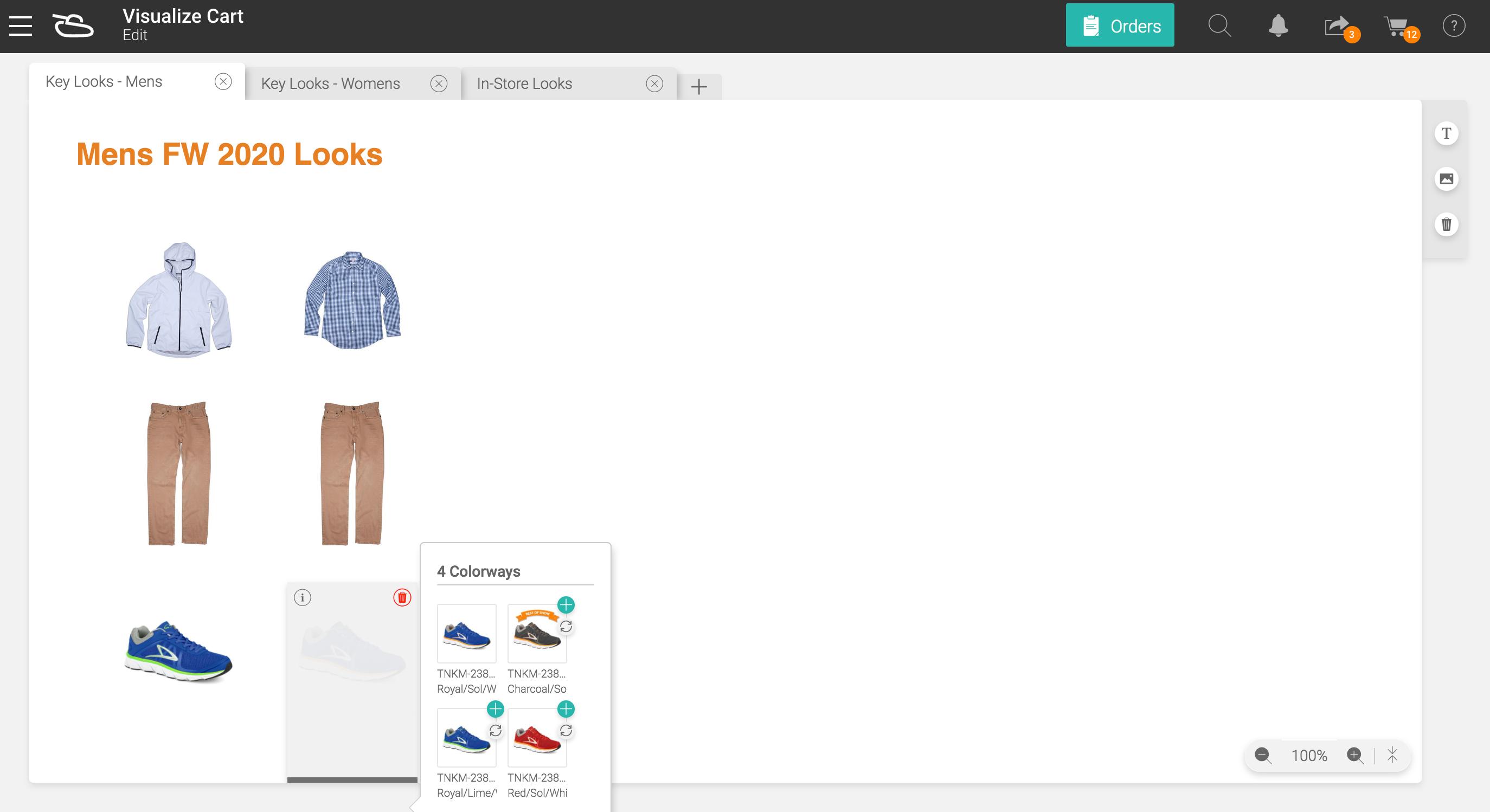Visually Merchandise Orders